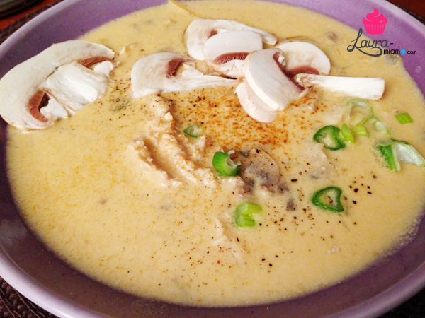 recette soupe thai coco curry
