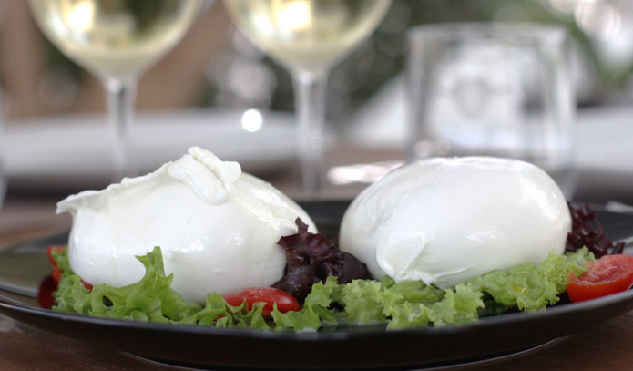mozzarella authentique