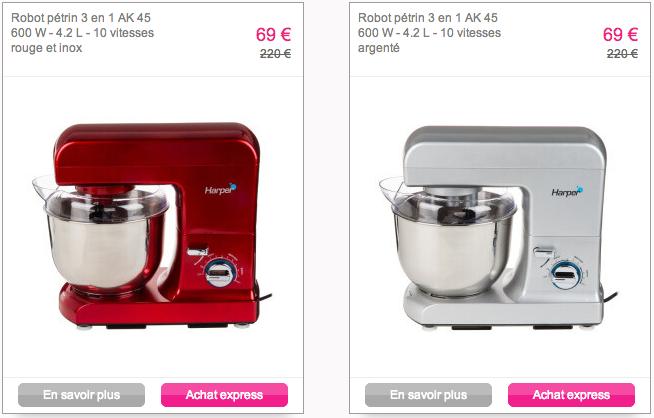 robot kitchen aid cuisince cook reduc vente privee 3