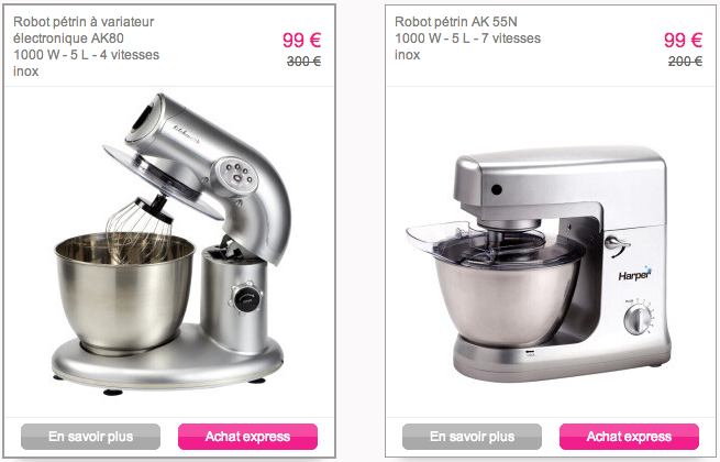 robot kitchen aid cuisince cook reduc vente privee